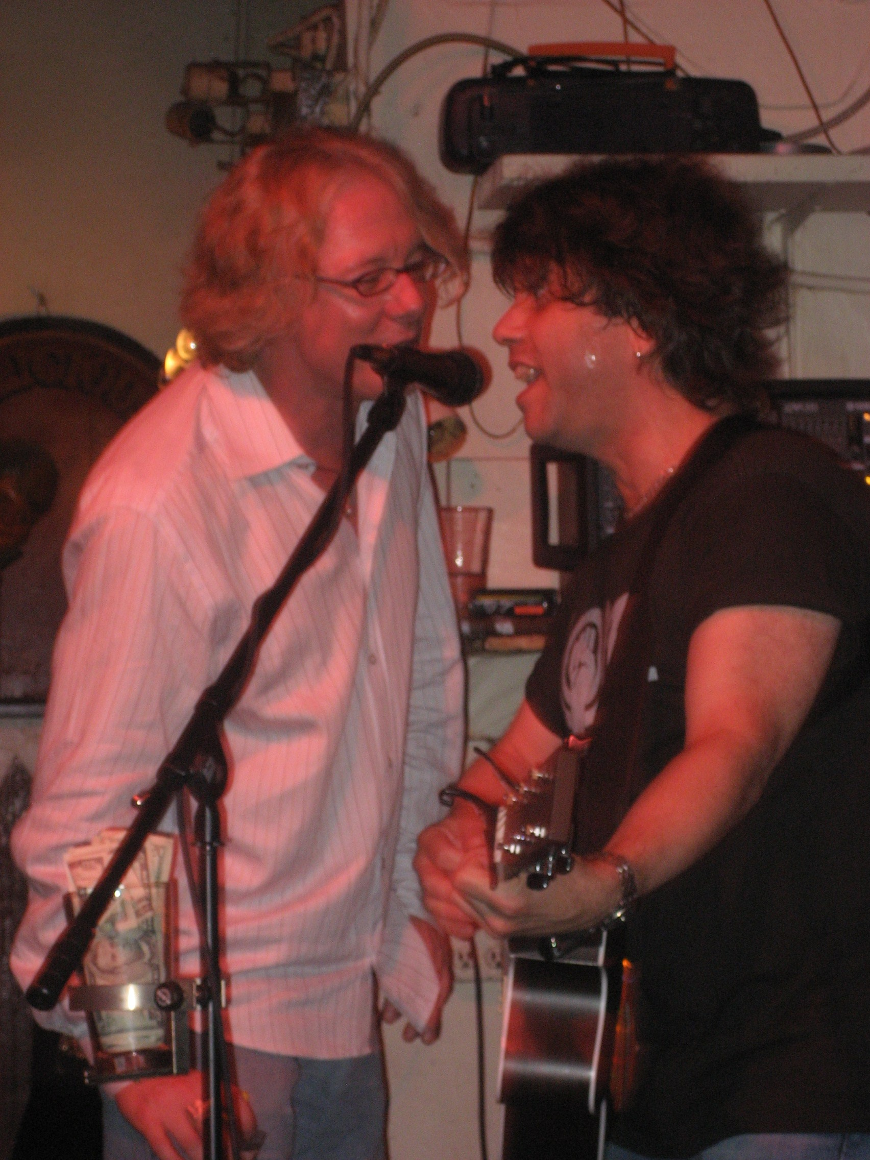 with Mike Mills (R.E.M.)