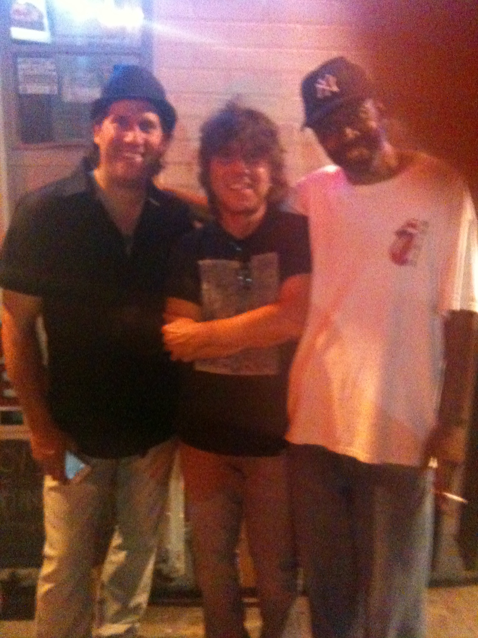 with Kenny Kramme and Marc West