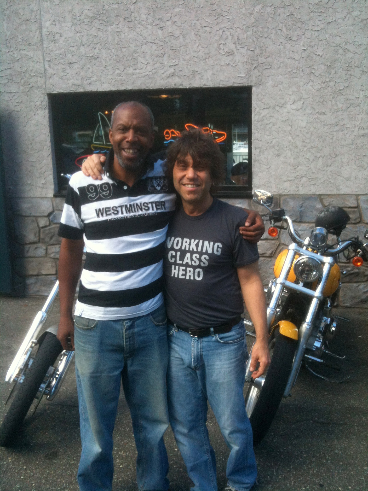 with Marc West (Dudley's, New Rochelle, NY)
